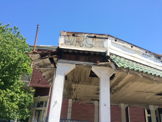 roof decay